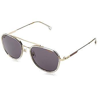 Carrera 1028/GS Sunglasses, Gold Grey, 55 Mens