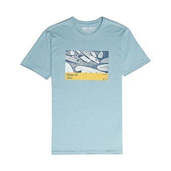 Billabong Dinámica camiseta de manga corta en Aqua Blue