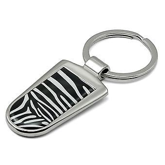 Zebra Print Sleutelhanger - KRG-50.8