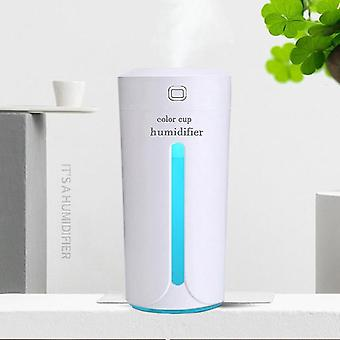Air Humidifier Eliminate Static Electricity Clean Air Care 7 Color Lights |Car Air Humidifier