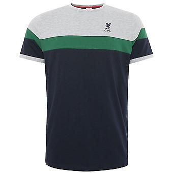 Liverpool FC Herrar Panelled T-Shirt
