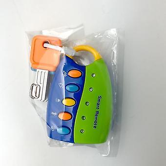 Bébé Toy Musical Car Key Vocal Smart Remote Voices Faire semblant de jouer éducatif