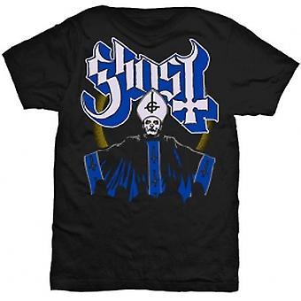 Ghost Papa & Band Mens Blk TS: Liten