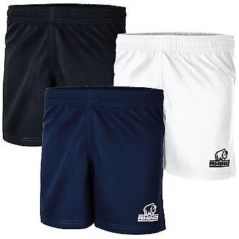 Rhino Auckland R/ Shorts Junior Svart - XLarge