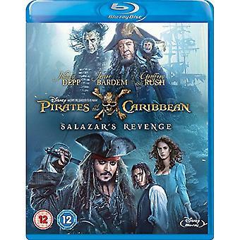 Pirates of the Caribbean: Salazar's Revenge Blu-ray