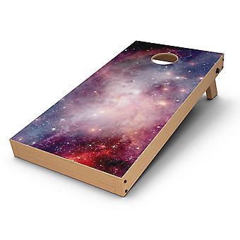 Élénk Space Cornhole Board bőr matrica kit