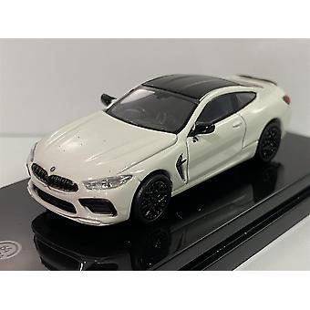 BMW M8 Coupe RHD White 1:64 Scale Paragon 65214R
