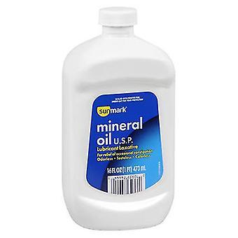 Sunmark Sunmark Mineral Oil USP Lubricant Laxative, 16 Oz