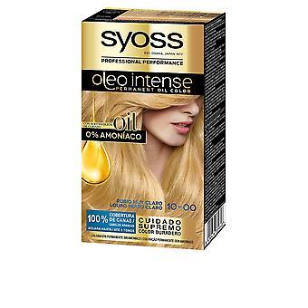 Syoss Olio Intensiv Tinte Sin Amoniaco #6.76-cobrizo Ambar 5 Pz För kvinnor