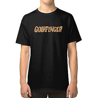 Gold Punk T shirt ska goldfinger