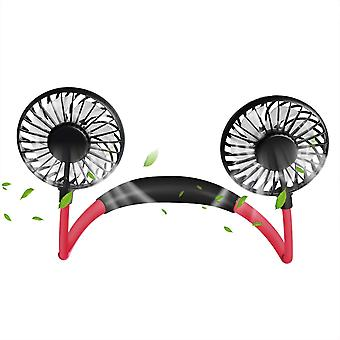Neck Hanging Fan, Usb Rechargeable Hand Free Portable Sports Fans