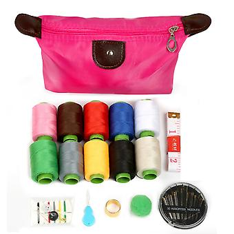 16pcs/set Needlework Household Sewing Kit Storage Sewing Hand Quilting Stitching Embroidery Tools