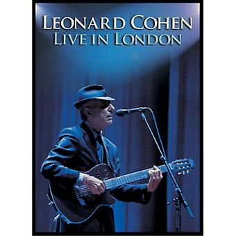 Leonard Cohen Live in London DVD (2010) Leonard Cohen cert E Quality garantido Região 2