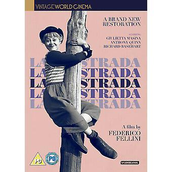 La Strada DVD (2017) Anthony Quinn Fellini (DIR) Zertifikat PG