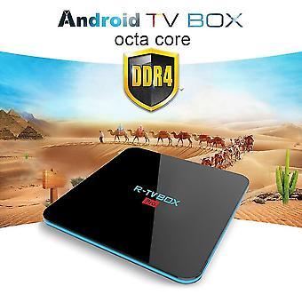 R-tv Box Pro 3g Ram Amlogic 32gb Rom Tv Box Wifi Octa-core Tv Box 4k lejátszó