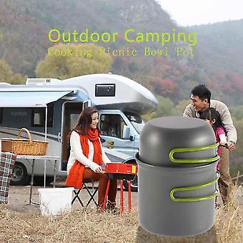 Ustensiles de cuisine Extérieur Pan Camping Randonnée Randonnée Cuisson Pique-nique Bol Pot