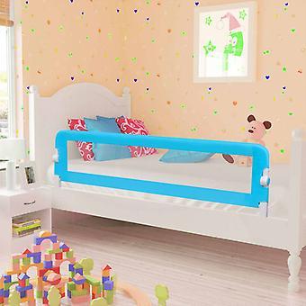 vidaXL småbarn seng beskyttelse grille 2 stykker blå 150 x 42 cm