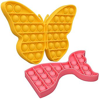 Push Sensory Travel Size Squeeze Sensory Butterfly