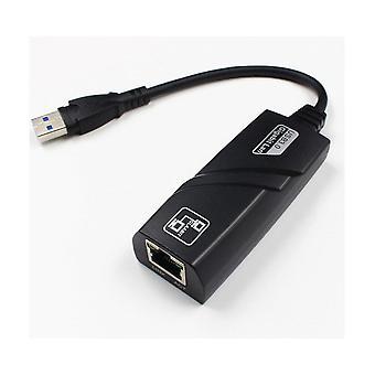 Gigabit Ethernet Langallinen verkkosovitin USB 3.0 Gigabit Ethernet RJ45 LAN (10/100/1000) Mbps