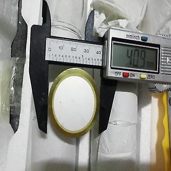 Summeri 40mm paksuuntumishalkaisija Paljas kupari, pietsosähköiset keraamiset kappaleet Kalvo