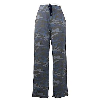 Soft & Cozy Women's Pants Printed Pull On w/ Pockets Gray 663227