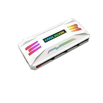 מאוורר מארז בקר PWM 4PIN מאוורר קירור 5V 3PIN ARGB RGB עבור מארז המחשב מאווררי לוח אם