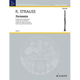 Strauss Romance Eb major o. Op. AV. 61 Clarinet and Piano