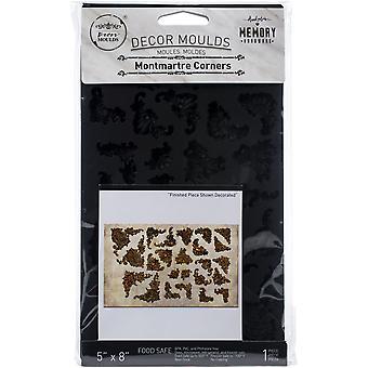 """Prima Markedsføring Re-Design Mould 5""""X8""""X8mm - Montmartre Hjørner"""