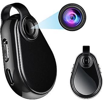 Mini Full HD 1080P verborgen camera, kleine draagbare bewakingscamera, compacte nanny camera met