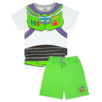 Toy Story Boys Buzz Lightyear Kostüm Pyjama Set