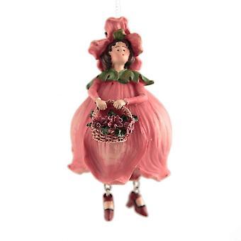 Blomma flicka figurin Poppy flicka