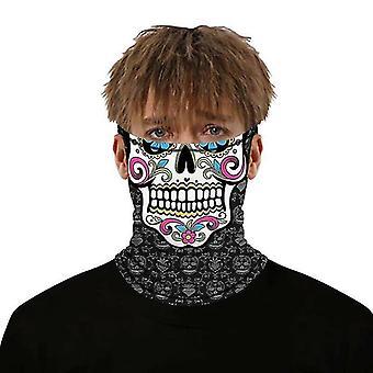 צעיפים (#29) מסכת פנים balaclava רב שימוש צוואר צעיף צינור סנוד אופנוען בנדנה #633