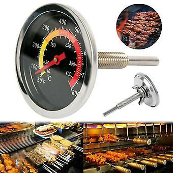 Temperature Gauge Stainless Steel Barbecue BBQ Smoker Grill Thermometer 50-400