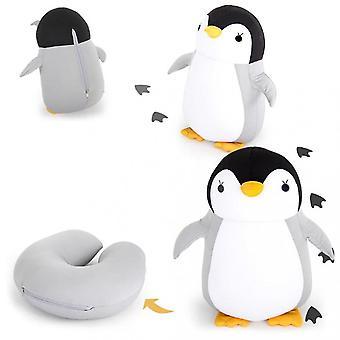 Pingviini U-muotoinen matkakaulatyyny