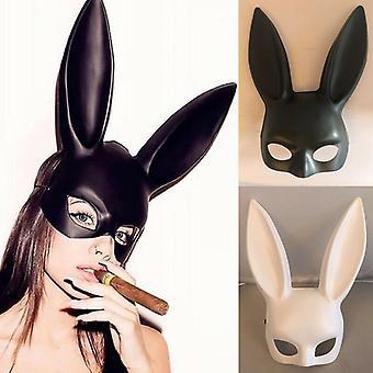 Frauen Halloween Sexy Bunny Maske Cosplay Masken Kaninchen Ohren Masken Party Bar Nachtclub Kostüm Accessoires