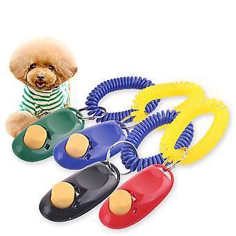 Pentru câini, clicker pentru formare și educație de câini, clicker pentru pisici. Cu Finger Band - Pentru pui de la 8 săptămâni [pachet de 4]