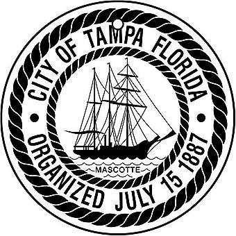 Florida Tampa City Seal Car Air Freshener