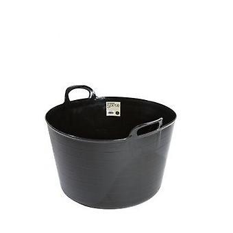 73lt constructori Flexi tub negru galeata plastic flexibil
