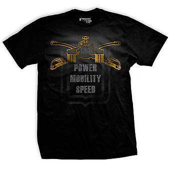 Ranger Up Armor Size Matters T-Shirt - Black