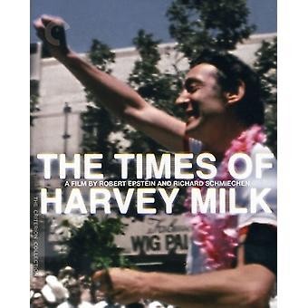 Temps d'importation USA Harvey Milk [BLU-RAY]