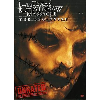 The Texas Chainsaw Massacre: Början [oklassificerat] [DVD] USA import
