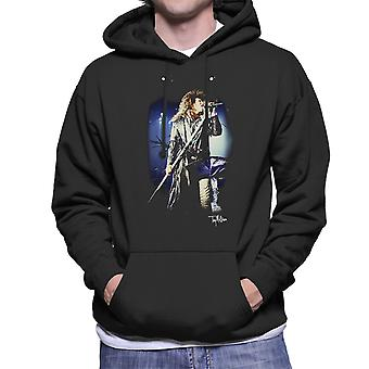 Jon Bon Jovi Performing Live Men's Hooded Sweatshirt