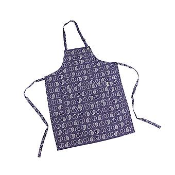 Beau & Elliot Confetti Outline Apron, Midnight Blue