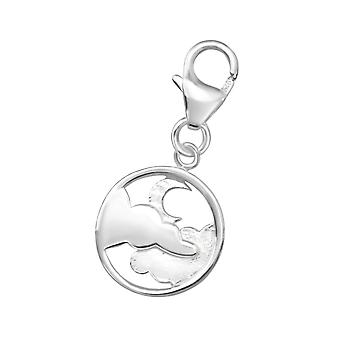 Night Sky - 925 Sterling Silver Charms with Lobster - W32184X