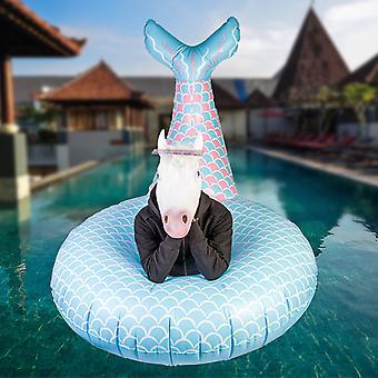 Gigantiska Mermaid Pool Float
