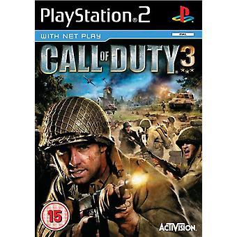 Call of Duty 3 (PS2) - Usine scellée