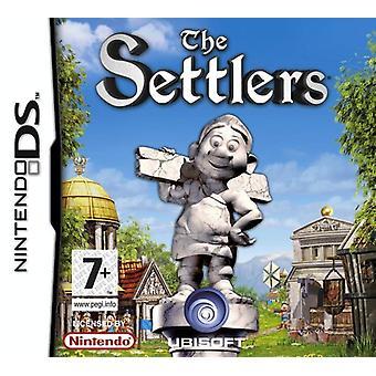 Bosætterne (Nintendo DS)-fabriks forseglede