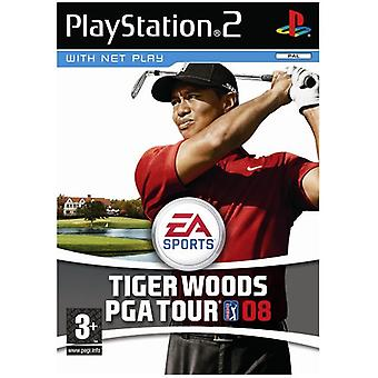 Tiger Woods PGA Tour 08 (PS2) - New Factory Sealed