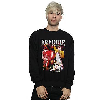 Queen menns Freddie Mercury hyllest Sweatshirt