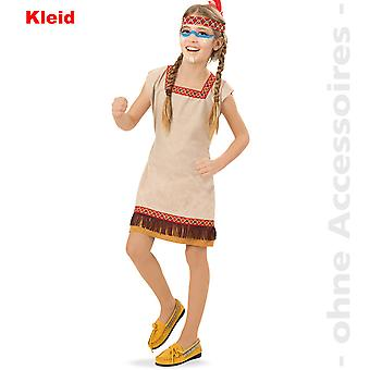 Indianerin Kostüm Kinder Squaw Kinderkostüm Apachin Indianerinnenkostüm